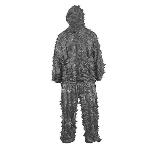 WZHCLOTHING Wüsten-Dschungeltarnung-Kleidung Bionischer Tarnanzug Passend Für Die Fotografie Vogelbeobachtung Bergsteigen Camping Camouflage-Kleidung (Farbe : A)