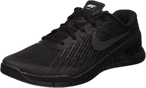 Nike Metcon 3 Size 9.5 Mens Cross Training Black/Black Shoes