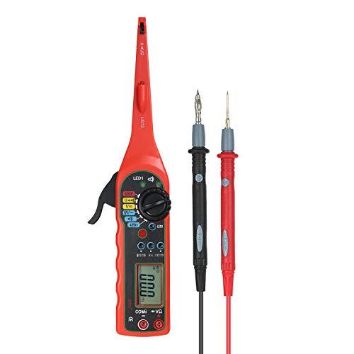 KKmoon Multi-Function Power Circuit Probe Kit, Auto Circuit Detector, Car Electric Circuit Voltage Tester Multimeter Car Diagnostics Tools