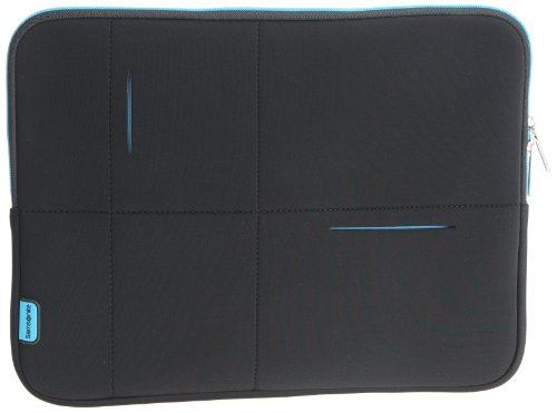 Samsonite Airglow Sleeves, Negro, Azul, 396.2 Mm (15.6'), 400 X 50 X 305 Mm, 360 G, Neopreno, Poliester