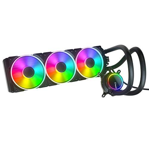 Fractal Design Celsius+ S36 Prisma PWM ARGB 360mm Silent Performance Slim Radiator AIO CPU Liquid/Water Cooler