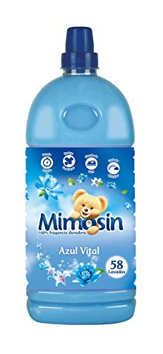 Mimosin Azul Vital – Concentrado Suavizante, 66lav x 8botellas