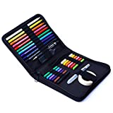 Haorw Kit de lápices de Colores, 26 Piezas Kit de lápices de Colores solubles en Agua