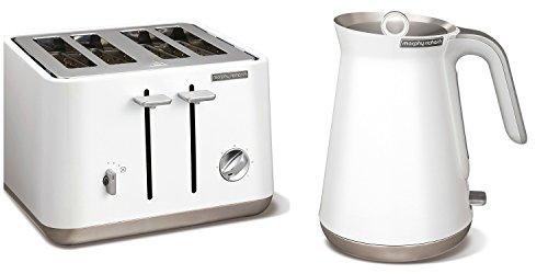 Morphy Richards Appareils de cuisine en acier inoxydable Blanc 1,5 l 3 kW