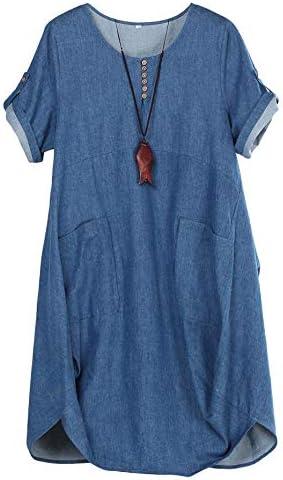 Casual denim dresses _image4