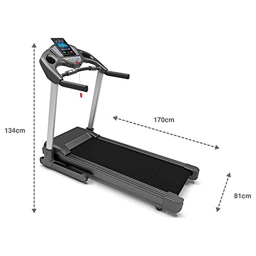 Bluefin Fitness KICK High-Speed Laufband | Leise Bild 5*