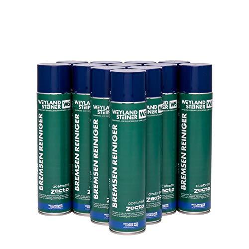 Zecto® Qualitativ Hochwertiger Bremsenreiniger, 600ml, Acetonfrei, Schutz vor Rost, Öl und Anderen Fetten, für Profi- und Privat-Gebrauch (12)