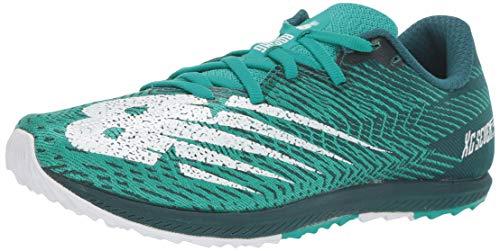 New Balance Women's Cross Country Seven V2 Spike Running Shoe, Tidepool/Verdite, 8 M US