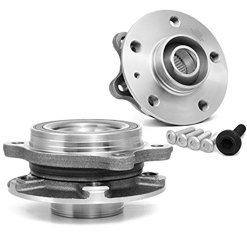 [2-Pack] BR930817K - FRONT Wheel Hub Bearing Assembly for Audi A Series, S Series, and Q5, also fit on REAR for Quattro models. [See Item Description for details]