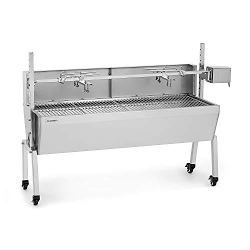 KLARSTEIN Sauenland Pro Grill para cochinillos - Pincho Giratorio, Motor eléctrico 15W,...