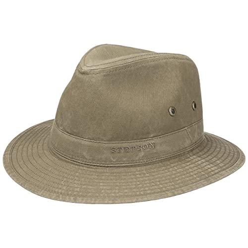 Stetson Sombrero Organic Cotton Traveller Hombre - de Tela...