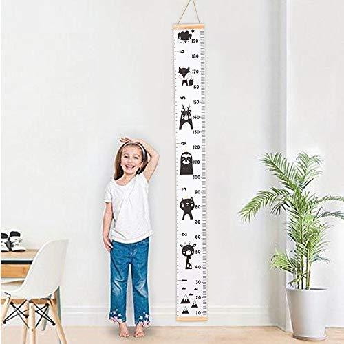 PMSMT Ins niños de medición de Altura de Madera Pegatina de Pared Colgante fotografía decoración de la habitación del hogar Accesorios de bebé para Fotos