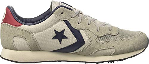 Converse Auckland Racer Distressed Ox, Zapatillas Unisex, Gris (Ghost Grey/Moon Struck), 36 EU