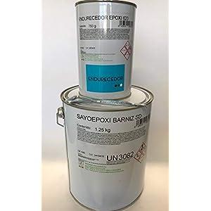 Resina Epoxi Puente de Unión Cemento Viejo – Cemento Nuevo de ALTAS PRESTACIONES 2 Kg. (1,25 Kg. Resina + 0,75 Kg. Endurecedor) + Abridor de regalo