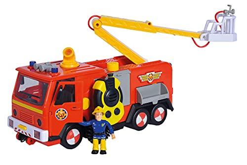Simba 109251098038 - Camión de Bomberos, Color Rojo
