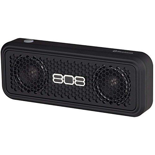 808 Audio XS Wireless Bluetooth Stereo Speaker - Black