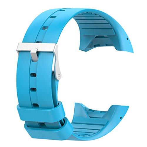 Gazechimp 1 Pieza de Muñequera de Repuesto para Reloj Inteligente Polar M400 M430 - Azul