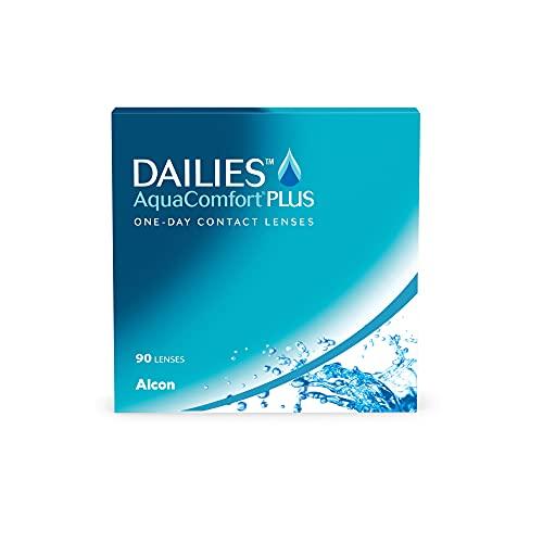 DAILIES AquaComfort Plus 1-Tages-Kontaktlinsen, 90 Stück, BC 8.7 mm, DIA 14.0 mm, -3.75 Dioptrien