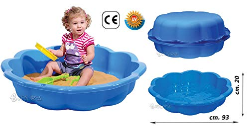 Do Wrap Performance Headwear sabbiera bambini combinabile con coperchio 75 litri piscinetta giardino bambini