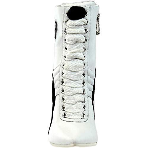 Puma Women's High Heel Leather Rihanna Dandelion/Puma White/Puma White Athletic Shoe