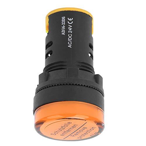 Luz del indicador de alimentación LED Luminoso, luz indicadora de potencia ± 20% 50 x 28mm φ22mm Hecho de plástico