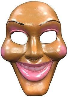La Purga cara original LUJO FIBRA DE VIDRIO Máscara - Cosplay Halloween lujo - UNIVERSAL TALLA Tira y hebilla