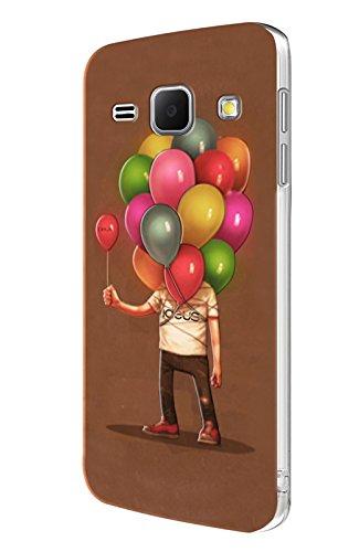 Ideus COJ101 - Carcasa con Relieve 3D para Samsung Galaxy J1