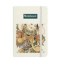 中国のお正月のパターン ノートブッククラシックジャーナル日記A 5