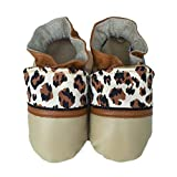 JUNGLE CAT Handmade in USA, All-Natural Leather Baby Shoes. (XL 18-24 months)