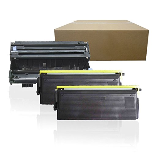 Inktoneram Compatible Toner Cartridges & Drum Replacement for Brother TN570 TN540 DR510 DR-510 TN-570 TN-540 MFC-8220 MFC-8440 MFC-8640 MFC-8840D MFC-8840DN DCP-8040 DCP-8045D (Drum,2-Toner,3PK)