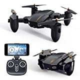 FQ777 FQ36 Folding Drone, Drone with Camera WiFi Camera Live Video and GPS