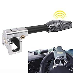Bloqueo del Volante,Alta seguridad,Auto Antirrobo Bloqueo,Giratorio Ajustable Autodefensa,Universal para Todos Vehículos