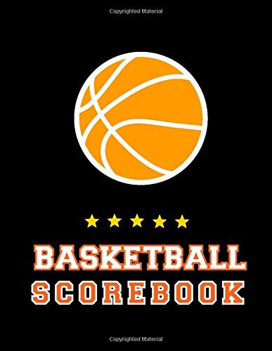 Basketball Scorebook: Basketball Game Record Book, Fouls, Outdoor , Scoring, Free Throws, Basketball Score Keeper, Basketball points Running score for ... Inch), 100: visitors, for basketball player