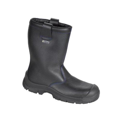 elysee Winter-Stiefel Sicherheits-Stiefel NORDHOLZ ÜK - S3-34343 - schwarz - Größe: 44