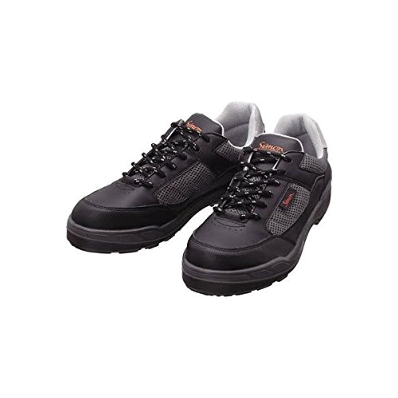 シモン プロスニーカー 短靴 8811ブラック 24.0cm 8811BK-24.0