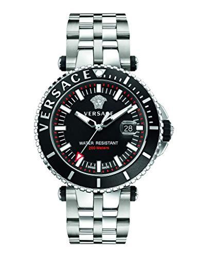 Versace VEAK00318 V-Race Herren 45mm 5ATM