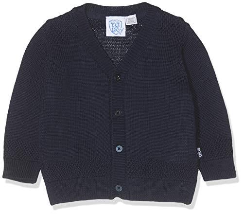 Chicco Baby-Jungen Cardigan Strickjacke, Blau (Blu Scuro 088), 56 (Herstellergröße: 062)