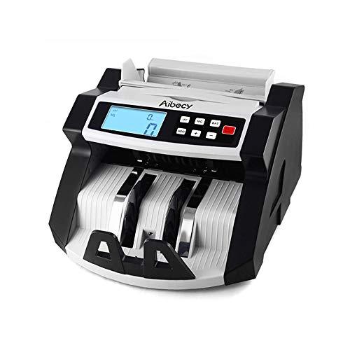 KKmoon 220V caja registradora Mixta automático multifuncional-LCD contadores detección de UV/MG/IR de monedas para Euro Dólar etc.