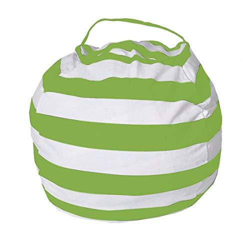 Ciujoy Sitzsack für Kinder, Baumwolle, grün, 61 cm (24 Zoll)