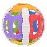 Zerodis Baby Rassel Ball weicher Greifer Glocken Handgummi Rasseln Spielwaren Kinder Intelligenz Handglocken für Baby