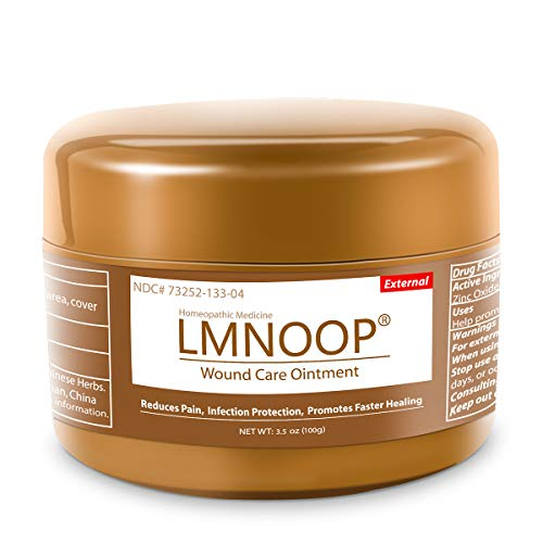 LMNOOP Wound Care - Bed Sore Cream, Medical Grade Skin Repair Healing Treatment Products, Infection Protection First Aid Ointment for Bed & Pressure Sores Diabetic Venous Foot & Leg Ulcer Burns Cuts
