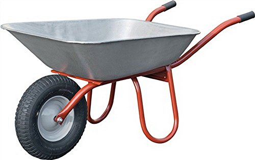 CAPITO kruiwagen Carry Wand-S. 1,5 mm inhoud 85 l luchtwiel 400/100 kunststof glijl.