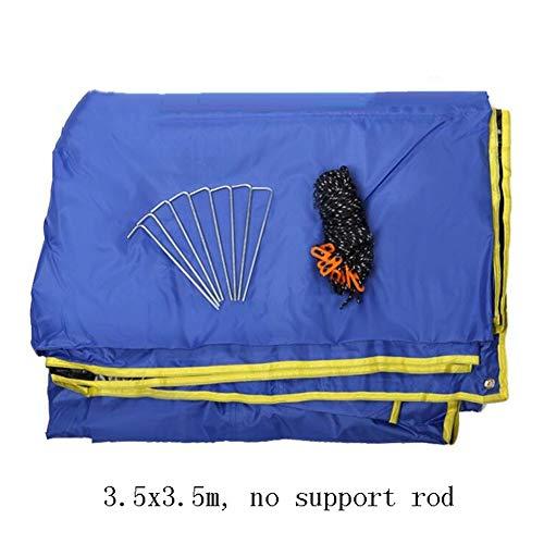 GuoWei Toldo Impermeable Refugio Playa Lona Carpas De Camping Pérgola Tienda De Playa Protector Solar Impermeable (Color : Blue, Size : C)