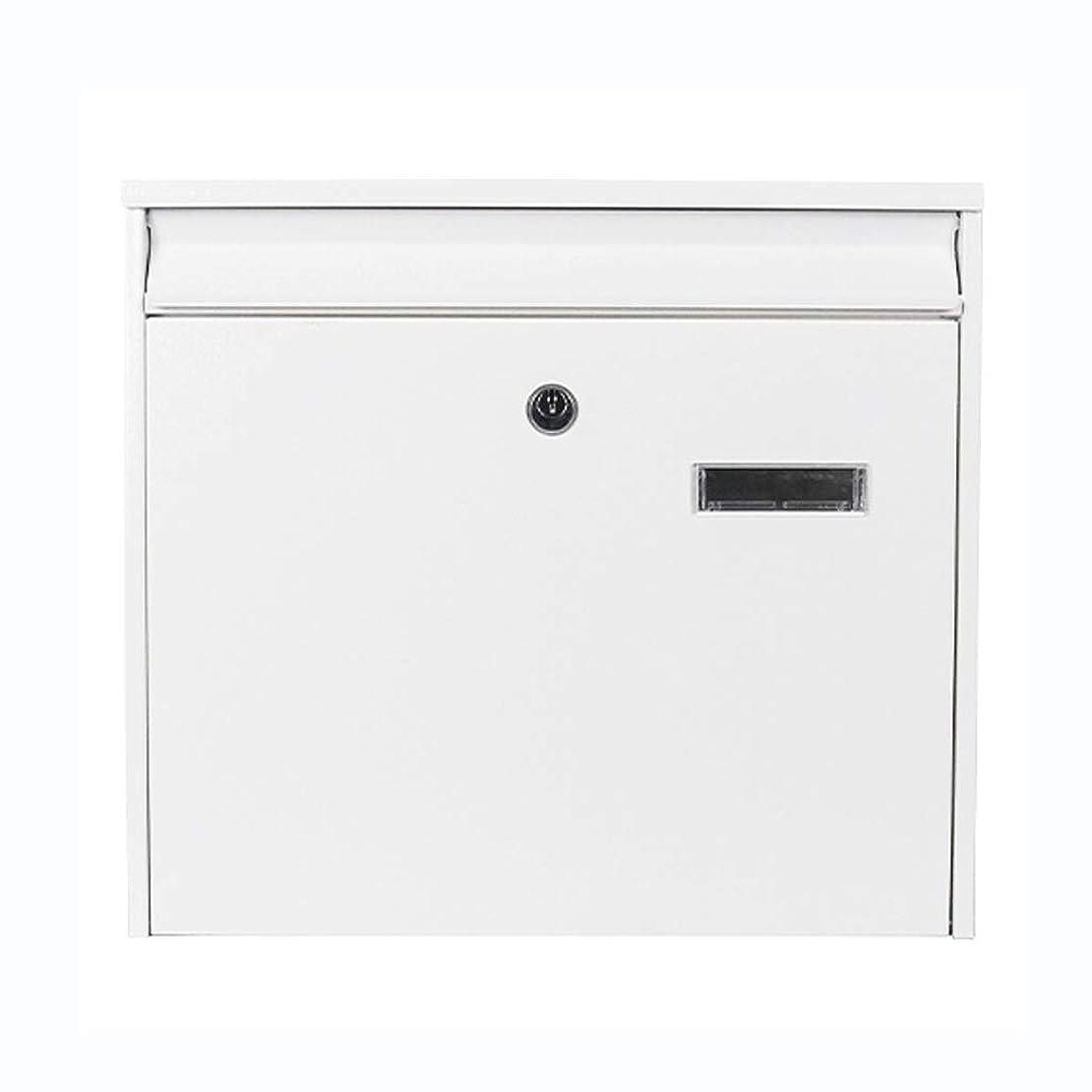 女の子アイザックビルマメールボックス屋外ヴィラメールボックス防雨メールボックスクリエイティブ壁掛けレターボックス屋外壁掛けメールボックス (色 : A)
