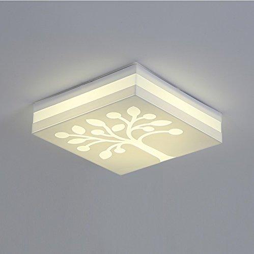 Moderne retrolamp, creatief, voor woonkamer, slaapkamer, hal, binnenplaats, hotel, nachtkastje, LED, in de vorm van een slaapkamer, werkkamer, plafondlamp, ijzer, kunst, wandlamp, boom Lumière Blanche 46cm