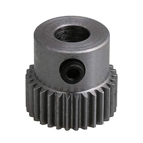 BQLZR - Pignon de moteur à pignon 0,5-16 x 15 mm - En acier - 30 dents - Alésage de 6 mm - Pour micro-générateurs de bricolage et petites machines
