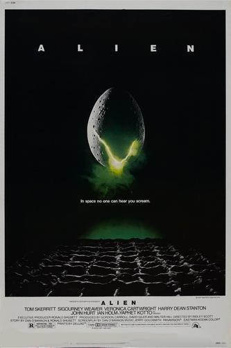 Alien Movie Poster Master Print 12x18 inch(30cmx46cm) Frameless Gift