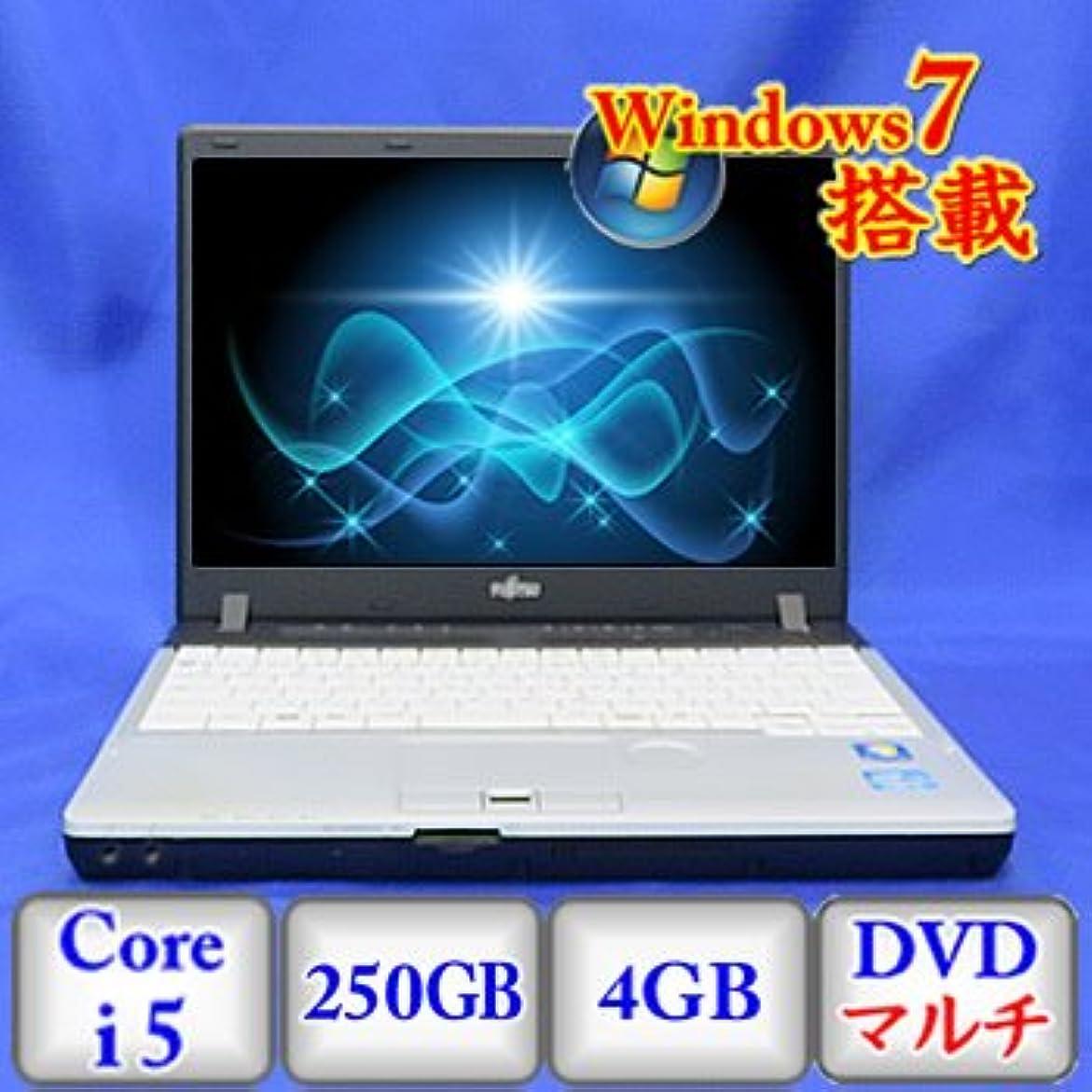 明確な食欲リスナー【中古ノートパソコン】富士通 LIFEBOOK P771/C [FMVNP4NE] -Windows7 Professional 32bit Core i5 2.5GHz 4GB 250GB DVDハイパーマルチ 12.1インチ(A0225N084)