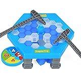 VENTDOUCE Juego de Bloques de Hielo Save Penguin On Ice Game Kids Mini Penguin Trap Game Rescata la Trampa de los pingüinos Activar Funny Family Party Puzzle Juegos de Mesa para niños niñas