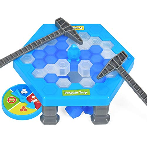 Save Penguin On Ice Game, Ice-Block Breaking Game, Break Ice Block Hammer...